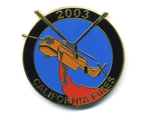 Picture of California Fire Siege 2003