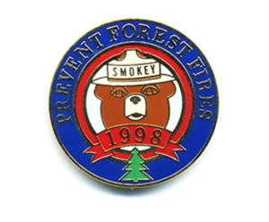 Picture of Smokey Bear Annual Commemorative - 1998