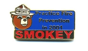 Picture of Smokey Bear Annual Commemorative - 2001