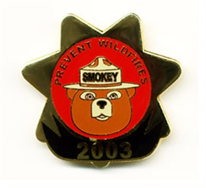 Picture of Smokey Bear Annual Commemorative - 2003